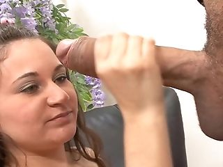 Ramon Is Horny As Hell And Can't Wait Any Longer To Screw Sex-positive Sophia's Mouth With His Pulsing Meat Stick