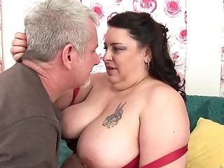 Bbw Lacy Bangs Fucked And Jizm In Mouth