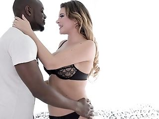 Nothing Is Finer For Anna Polina Than A Blowage Before Interracial Fuck-a-thon