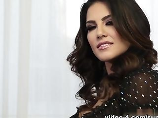 Best Pornographic Star Sunny Leone In Best Solo Lady, Big Tits Adult Flick