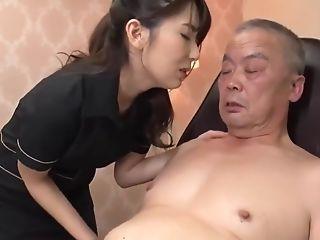 帅老头被舔全身(asian Old Man)-1