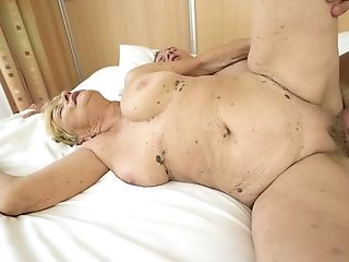 Dirty Matures Blonde Fuckslut With Saggy Tits Gets Slit Both Ate And Romped