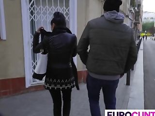 Two Sexy Euro Whores Are In For A Treat