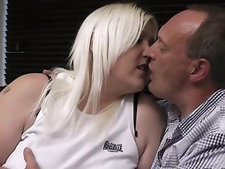 Blonde Bbw Gives Head And Rails Cheating Pecker
