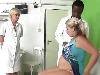 Preggie Biotch Seduced By Physician