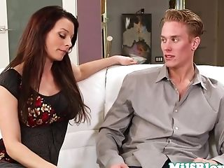 Amazing Adult Movie Star In Incredible Cougar, Suck Off Pornography Scene