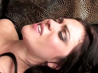 Romp-thirsty Dark Haired Mandy More Goes Wild On Hard Penis Of Her Ex-beau