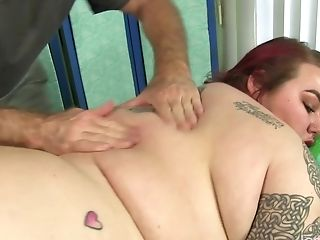 Bbw Big Tender Has Her Fat Figure And Hairy Coochie Massaged