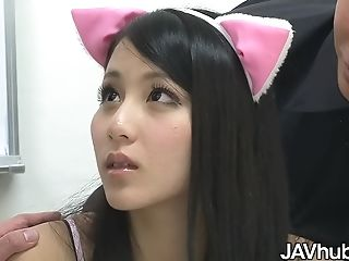 Ren Azumi Screwed By Her Two Schoolteachers - Japanese Pornography