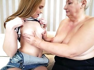 Horny Lezzy Lulu Love Is Only Interested In Bang-out With Older Women