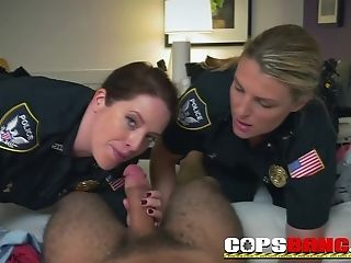 Buxomy Tits Officers Take An Arabian Knob To Love Hard Fuck-fest Act