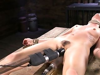 Pro Pornography Actress Kristen Scott Is Testing Fresh Hitachi And Sex Bot
