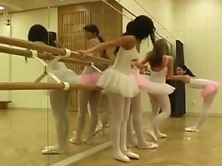 Eating Cake Off Feet All Girl Hot Ballet