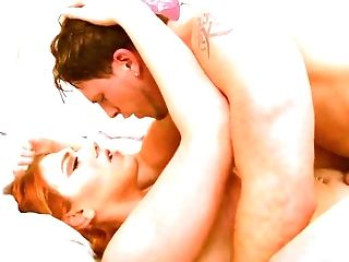 Ardent Crimson Haired Tgirl Aspen Brooks Is Banged Rear End Style Indeed Hard