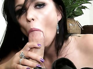 Ally Style Has Oral Bang-out Of Her Lifetime With Horny Fellow