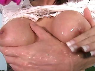 Johnny Sins Gives Juelz Ventura Something To Suck On